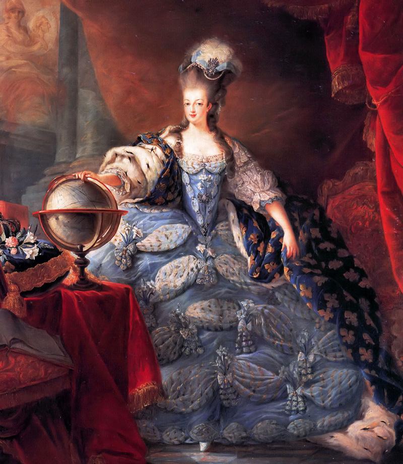 Portrait of Marie Antoinette, Queen of France by  Jean-Baptiste Andre Gautier-Dagoty