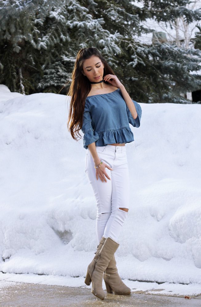Fashion Blogger in Park City