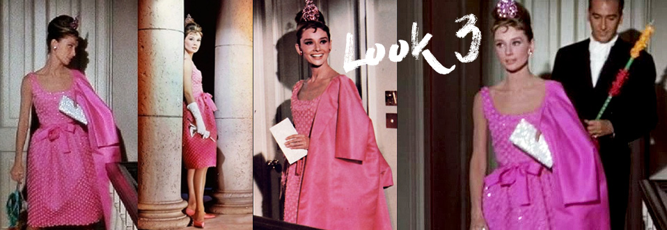 Pink look dress from Breakfast at Tiffany's