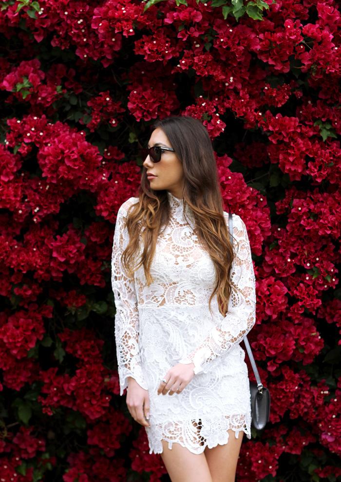 Азербайджанскаяблоггер Ulia Ali в Санта Барбаре, Калифорния. Мода Баку