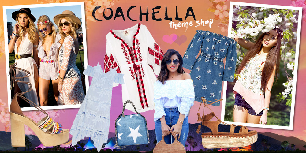 Coachella Theme Shop by blogger Ulia Ali