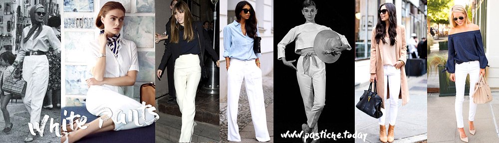 White Pants. Style Essentials by Ulia Ali from pastiche.today blog. Azerbaijani blogger living in NYC