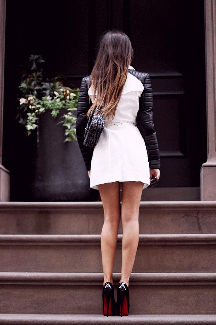 Girl in Louboutin heels.