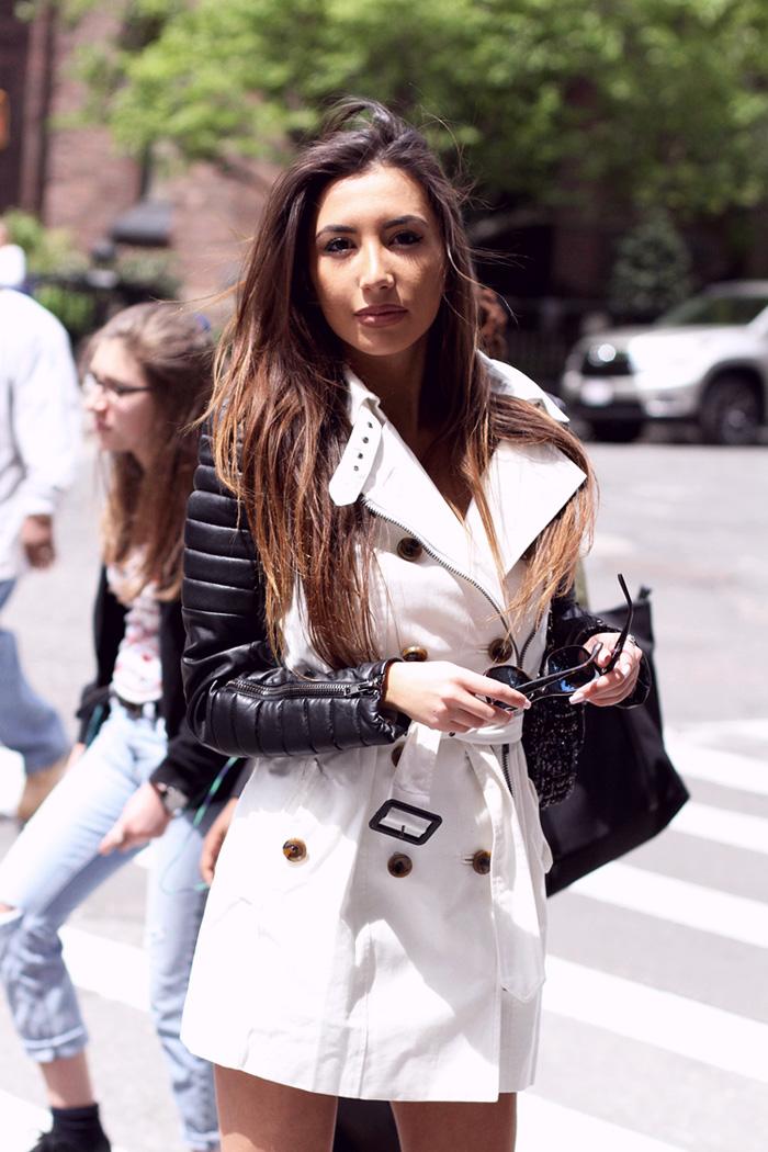 Ulia Ali. Azerbaijani model in New York. Blog pastiche today