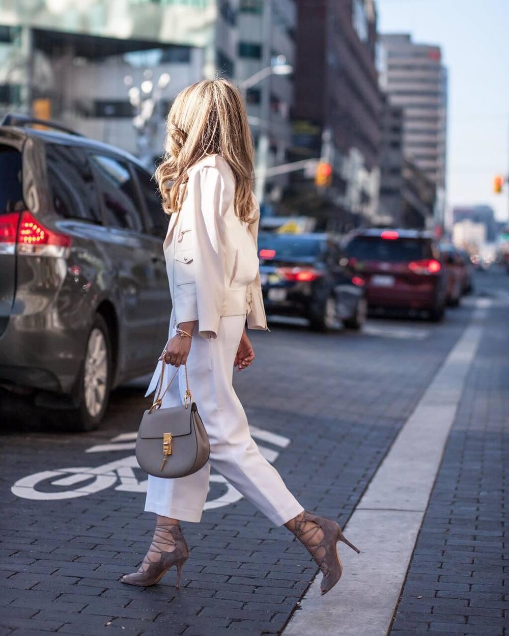 Stylish blogger style