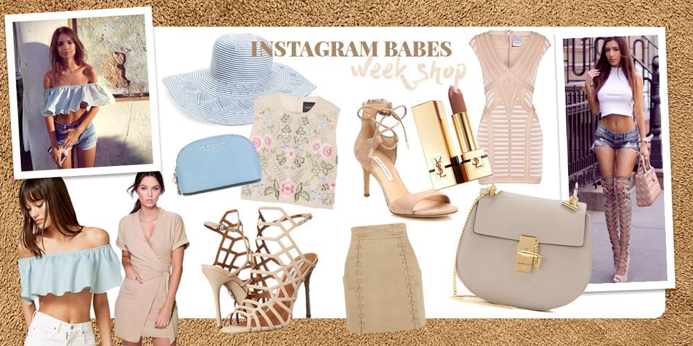 Instagram Shop. Best outfits on social media