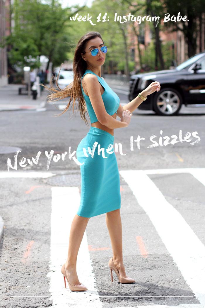 Ulia Ali in NYC.