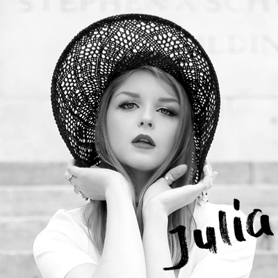 Julia Fashionista  - My first friend in NYC and my photographer/model.    juliafashionista.com