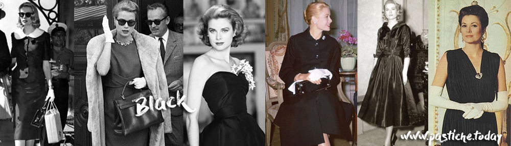 Grace Kelly in elegant black.