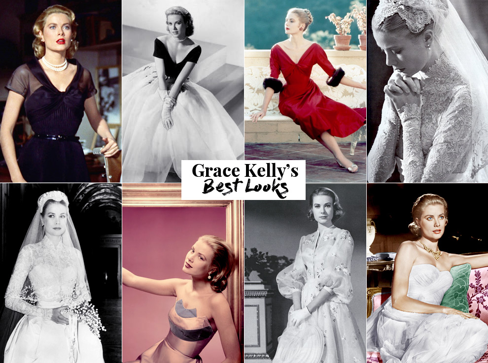 Best fashion looks of Grace Kelly.