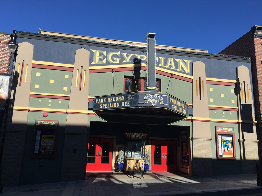 The Egyptian Theatre in Park City was part of a national and worldwide fascination with the contemporary discovery of the tomb of King Tut in Egypt. The Sundance Film Festival has used The Egyptian Theatre as a cinematic house for almost as long as the festival has existed; one of its oldest and most recognizable venues.