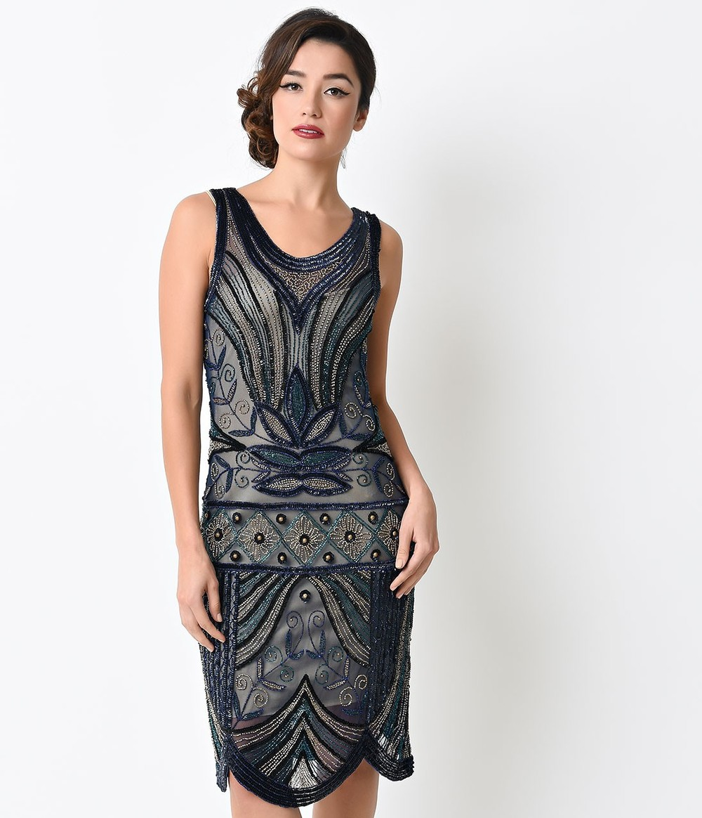 Unique_Vintage_1920s_Navy_Deco_Beaded_Caspian_Flapper_Dress_6.jpg