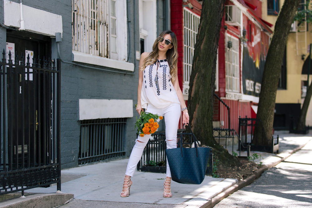 Top NYC blogger - Ulia Ali from Pastiche Today.