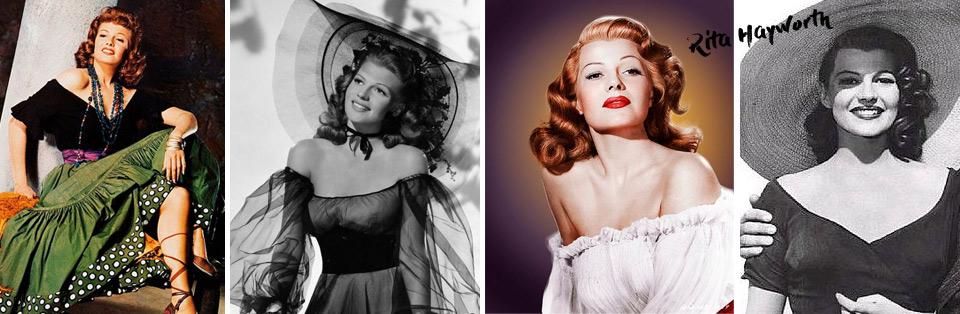 Rita Hayworth new on pastiche.