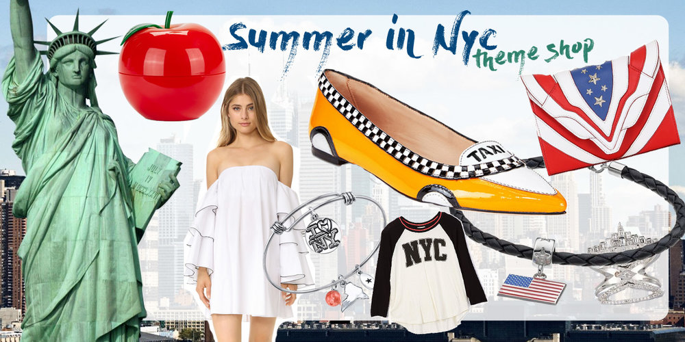 NYC theme curated shop.