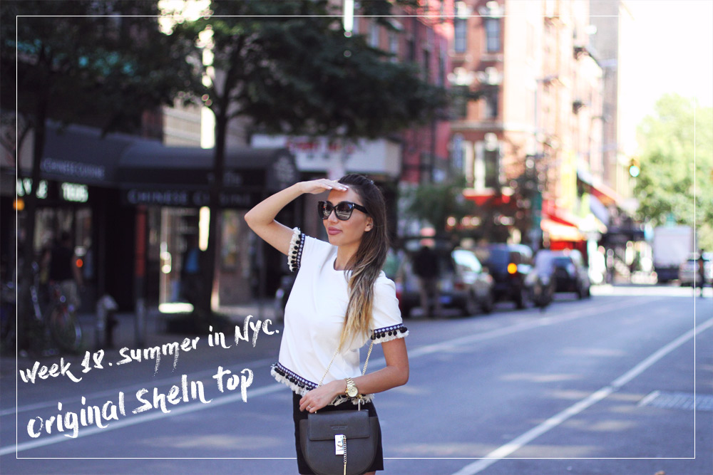 Original Shein Top. Best blogger NYC