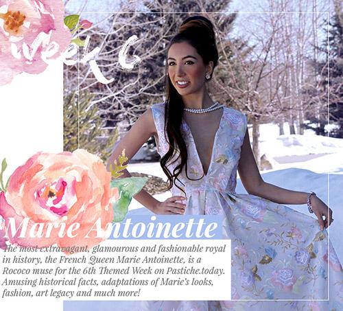 Week 6 - Marie Antoinette  | April 2016