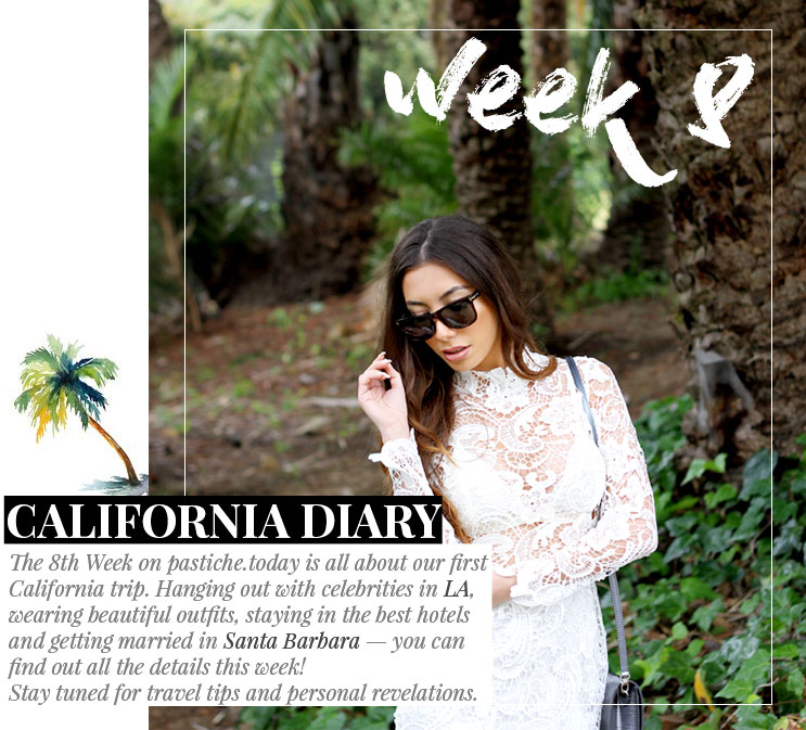 Week 8 - California Diary | May 2016