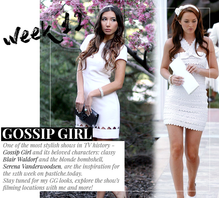 Week 12 - Gossip Girl | June 2016