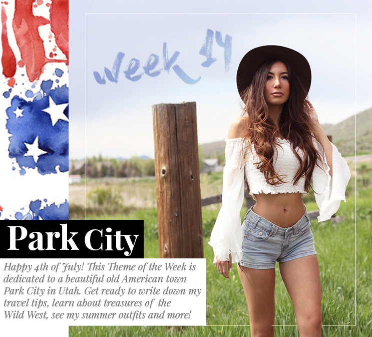 Week 14 - Park City | July 2016