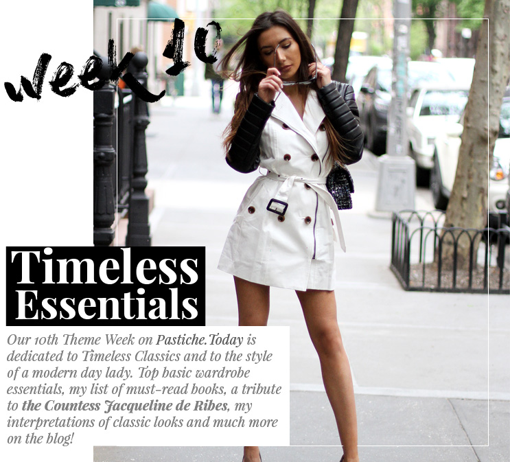 Week 10 - Timeless Essentials | May