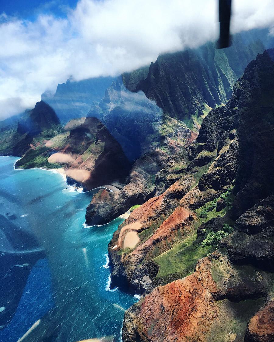 Kauai helicopter.