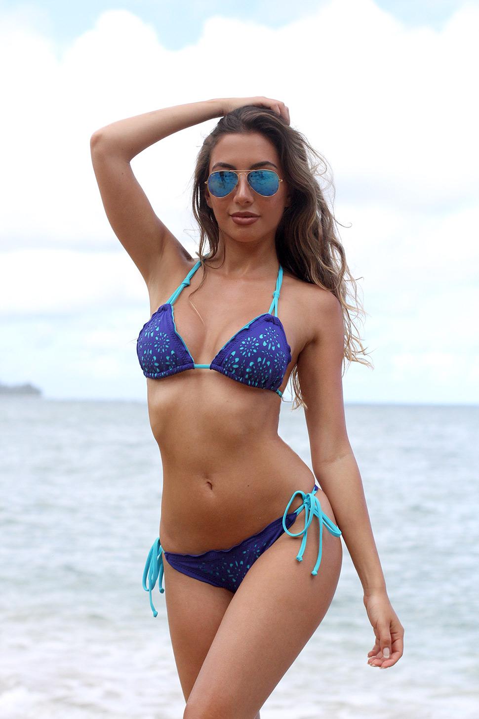 Azeri model in Hawaii, Ulia Ali