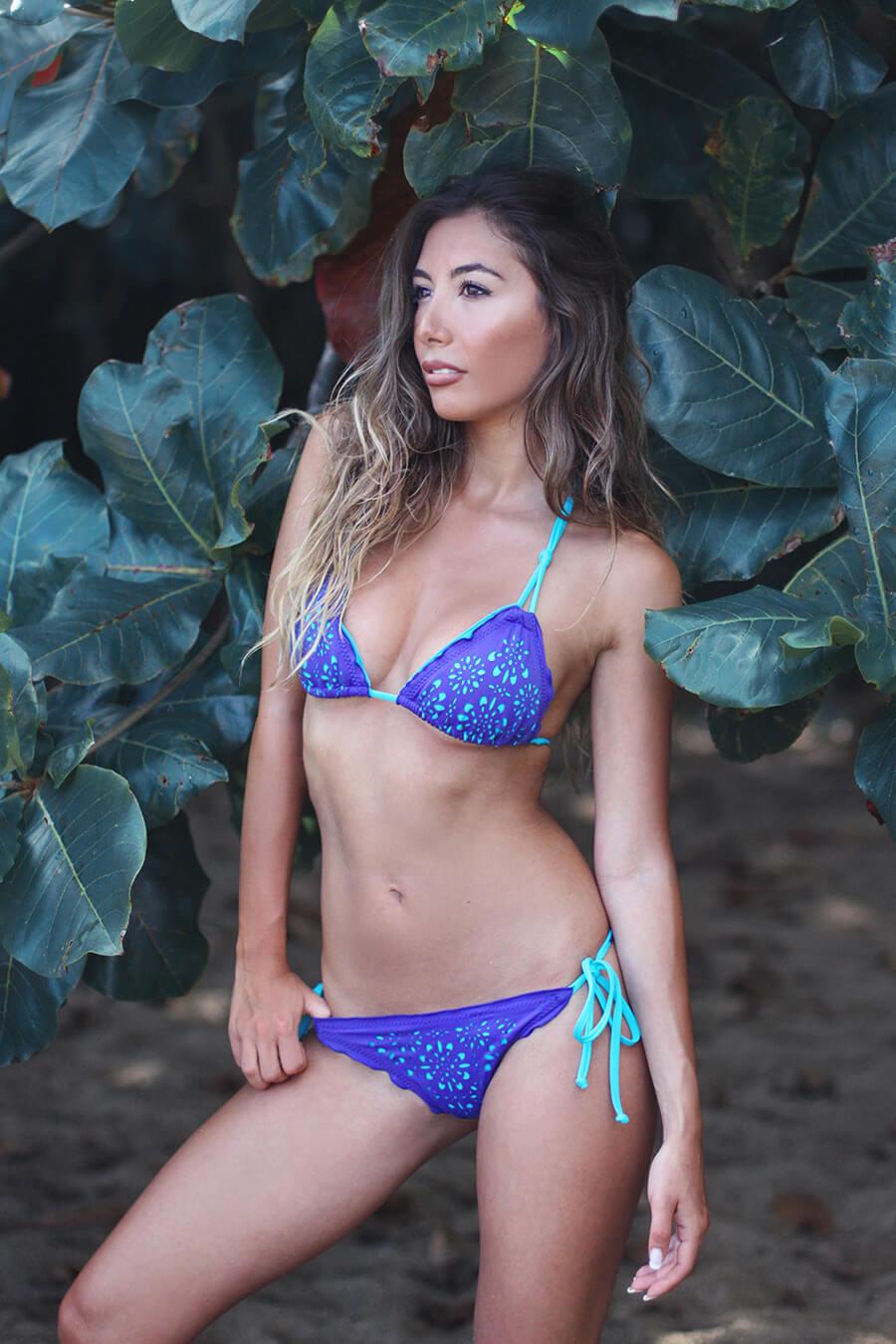 Pualani Bikini in Hanalei, Kauai, Hi