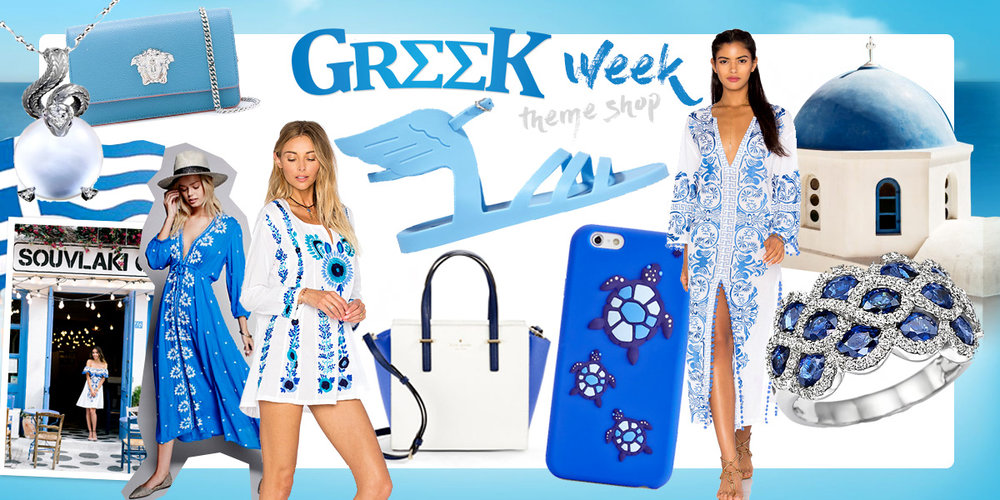 Gifts and fashion from Greece. Curated selection