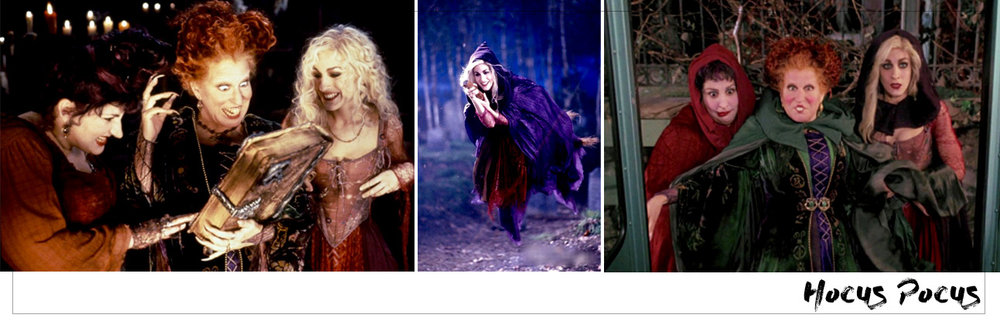 Hocus Pocus Witches.