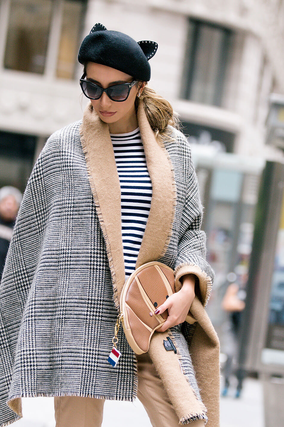 Classic French chic style for Fall.