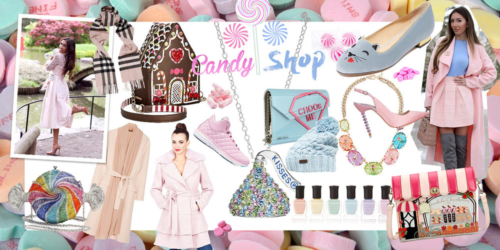 Candy themed fashion and gifts store. Best curated shop online!