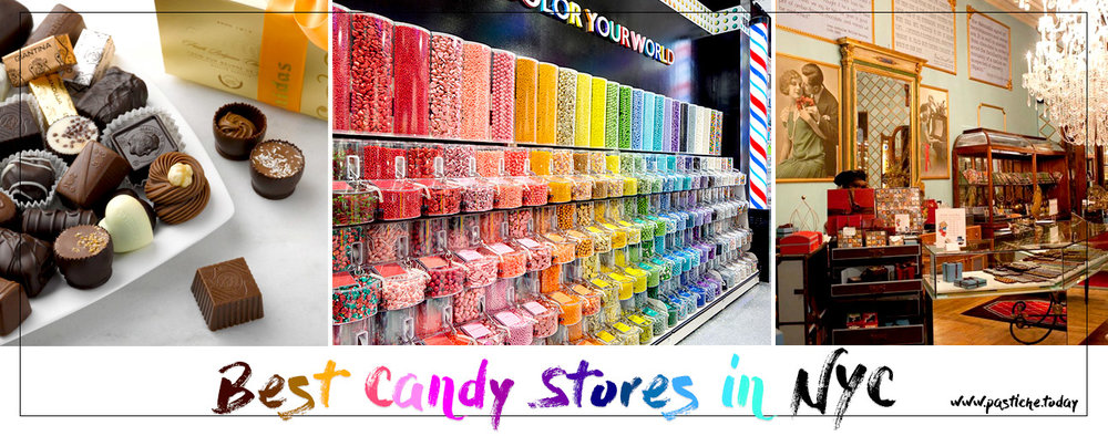 Best Candy and Chocolate Stores in NYC, New York. Full list on Pastiche.today