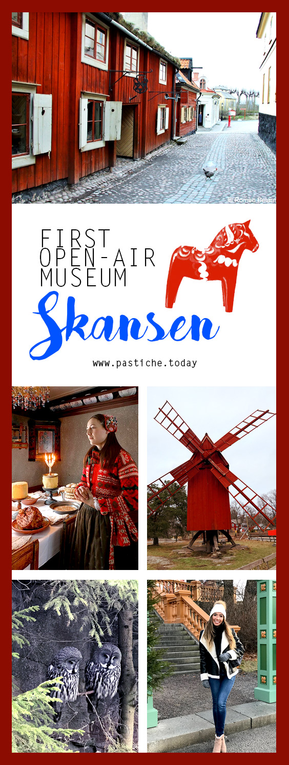Skansen open-air museum outdoors, immersive activity Sweden