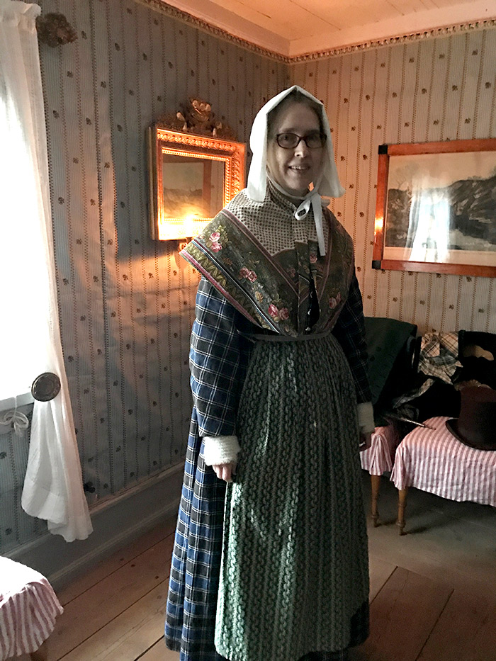 Period costumes in Skansen, Sweden.