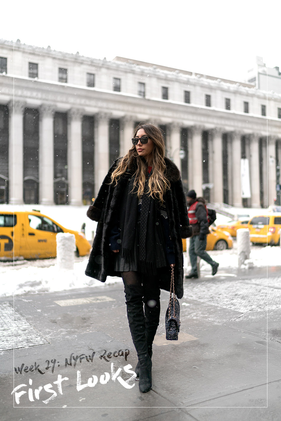 First New York Fashion Week look. NYFW. Blogger style.