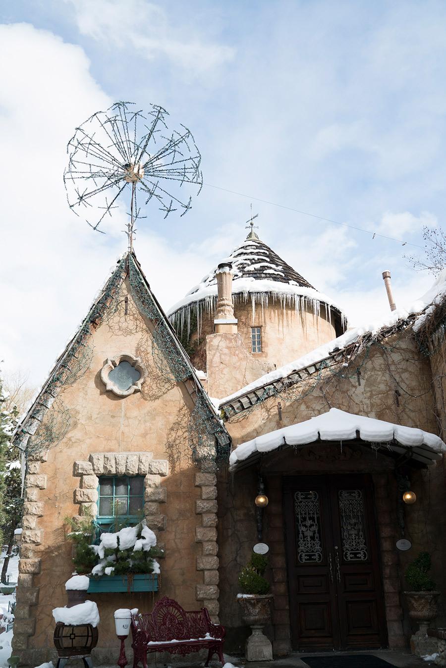 La Caille Restaurant. Fairy Tale Castle