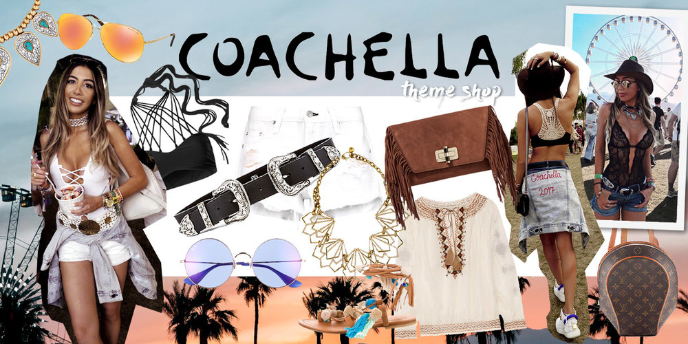 Coachella 2017 theme shop. Festival Coachella outfits inspiration.