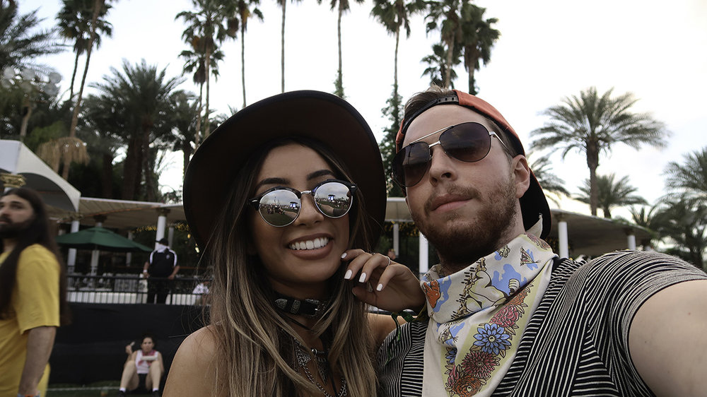 Couple at Coachella