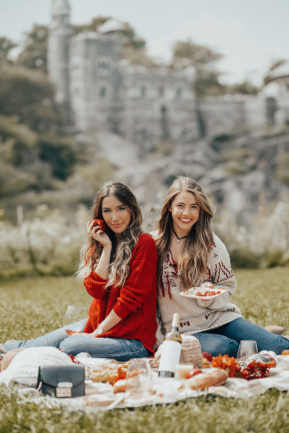 Fall Picnic Inspiration. Ulia Ali in NYC/