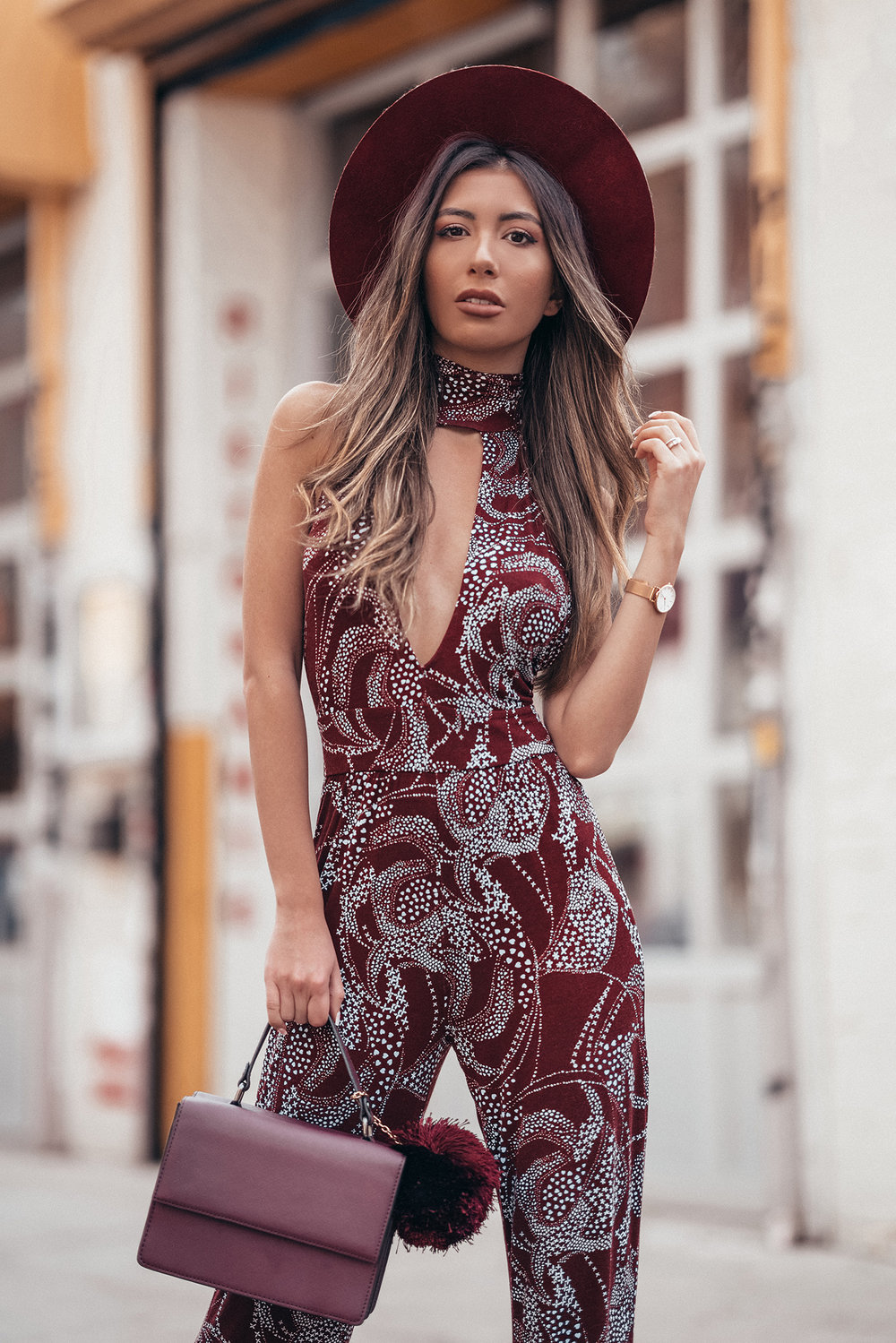 Clemente jumpsuit at Revolve by Clayton