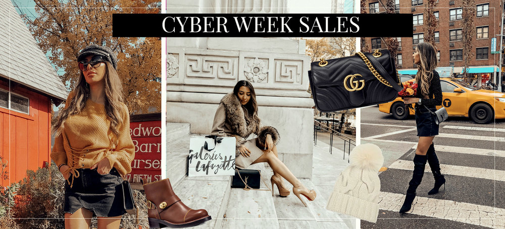 Cyber Week Deals 2017. Best Black Friday Discounts by fashion blogger. All the codes.