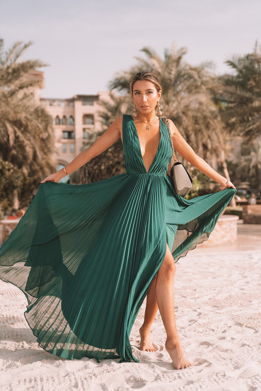 Free People dress in Dubai