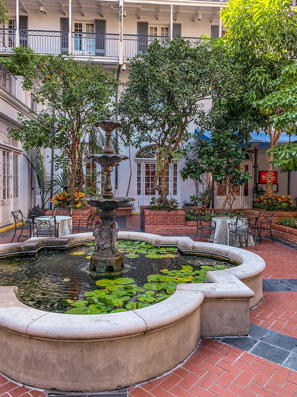 Charming hotel in New Orleans