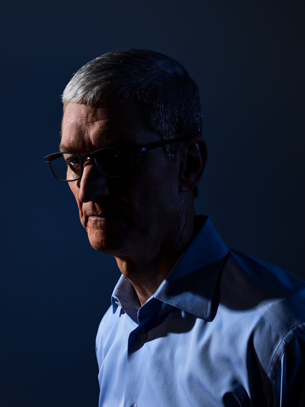 Tim Cook, CEO of Apple, Cupertino, California, 2017
