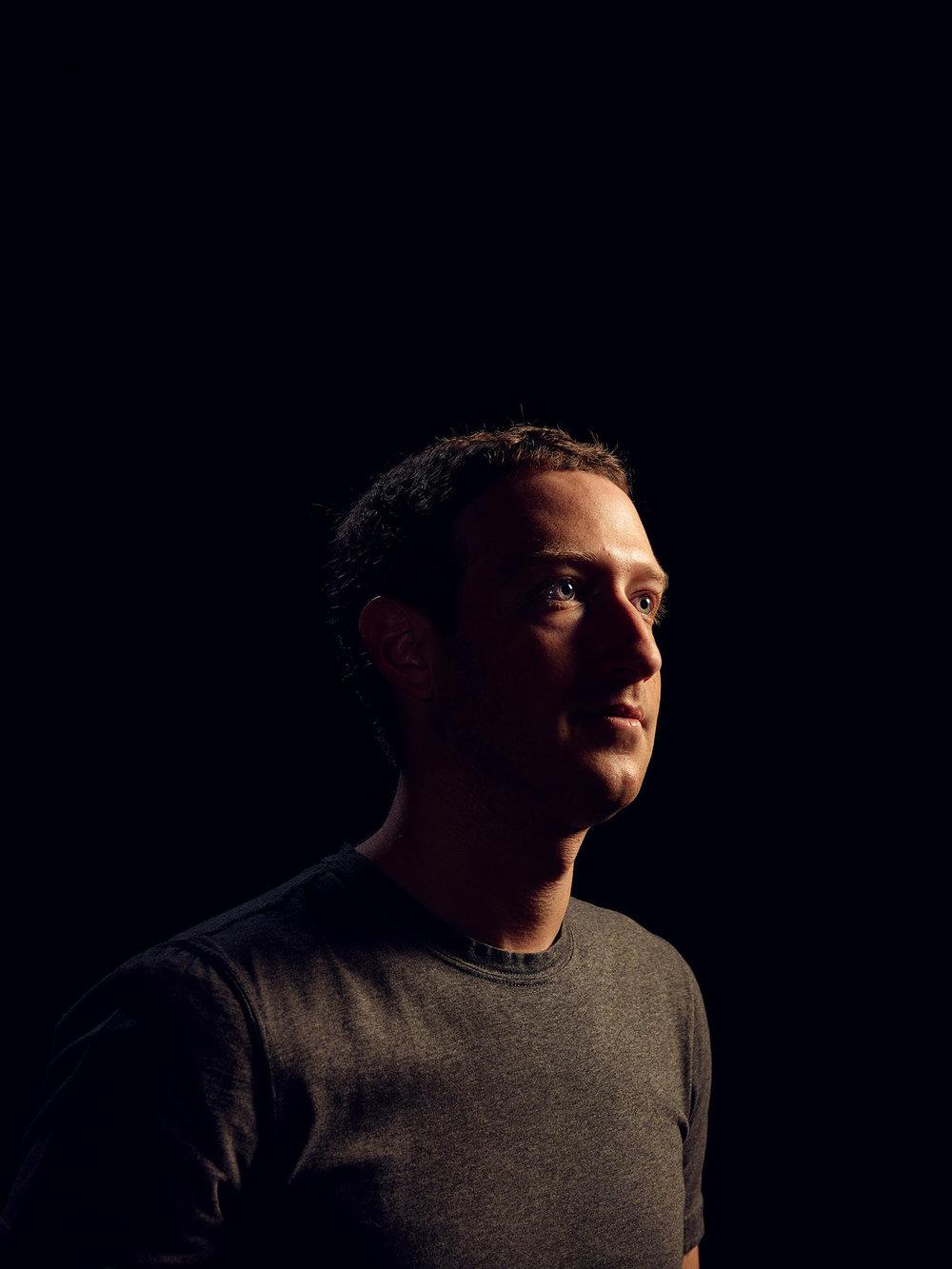 Mark Zuckerberg, CEO of Facebook, Menlo Park, California, 2017
