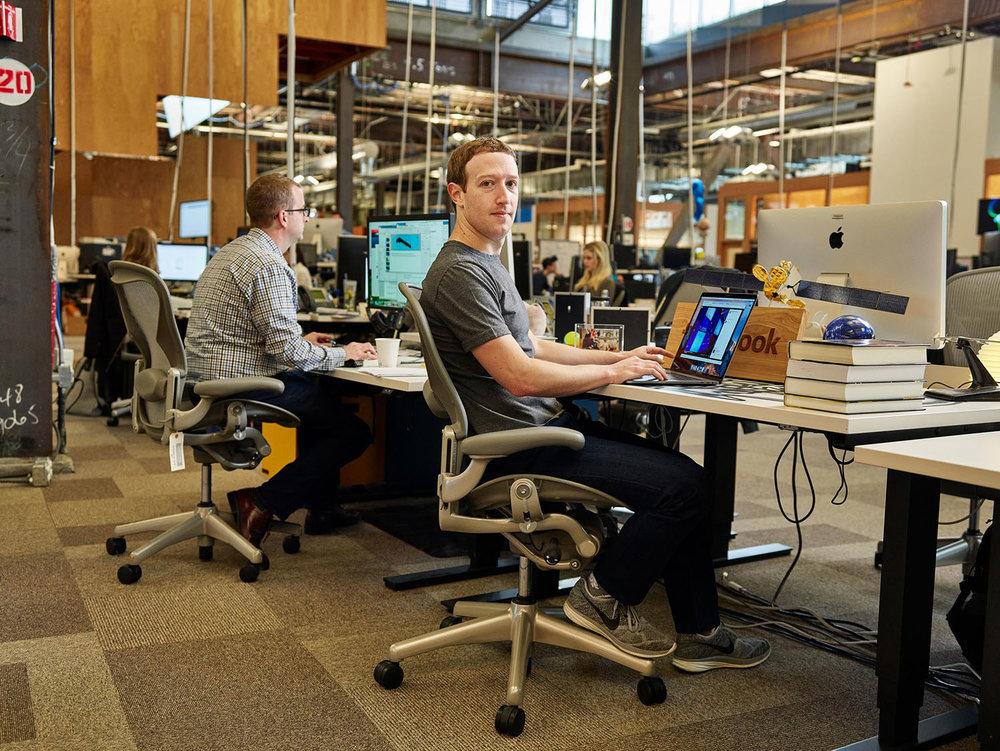 Mark Zuckerberg, Co-Founder & CEO of Facebook