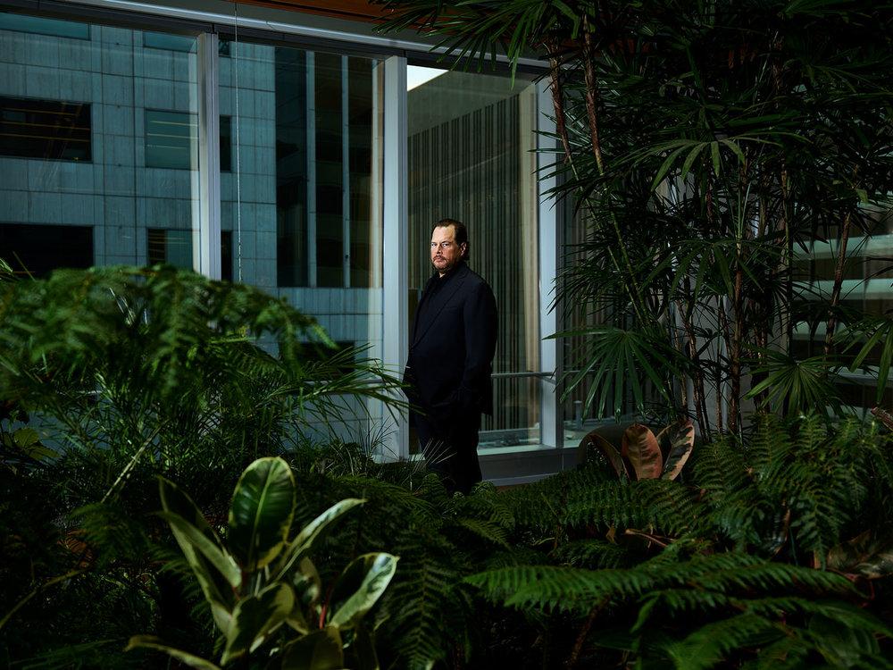 Marc Benioff, CEO of Salesforce