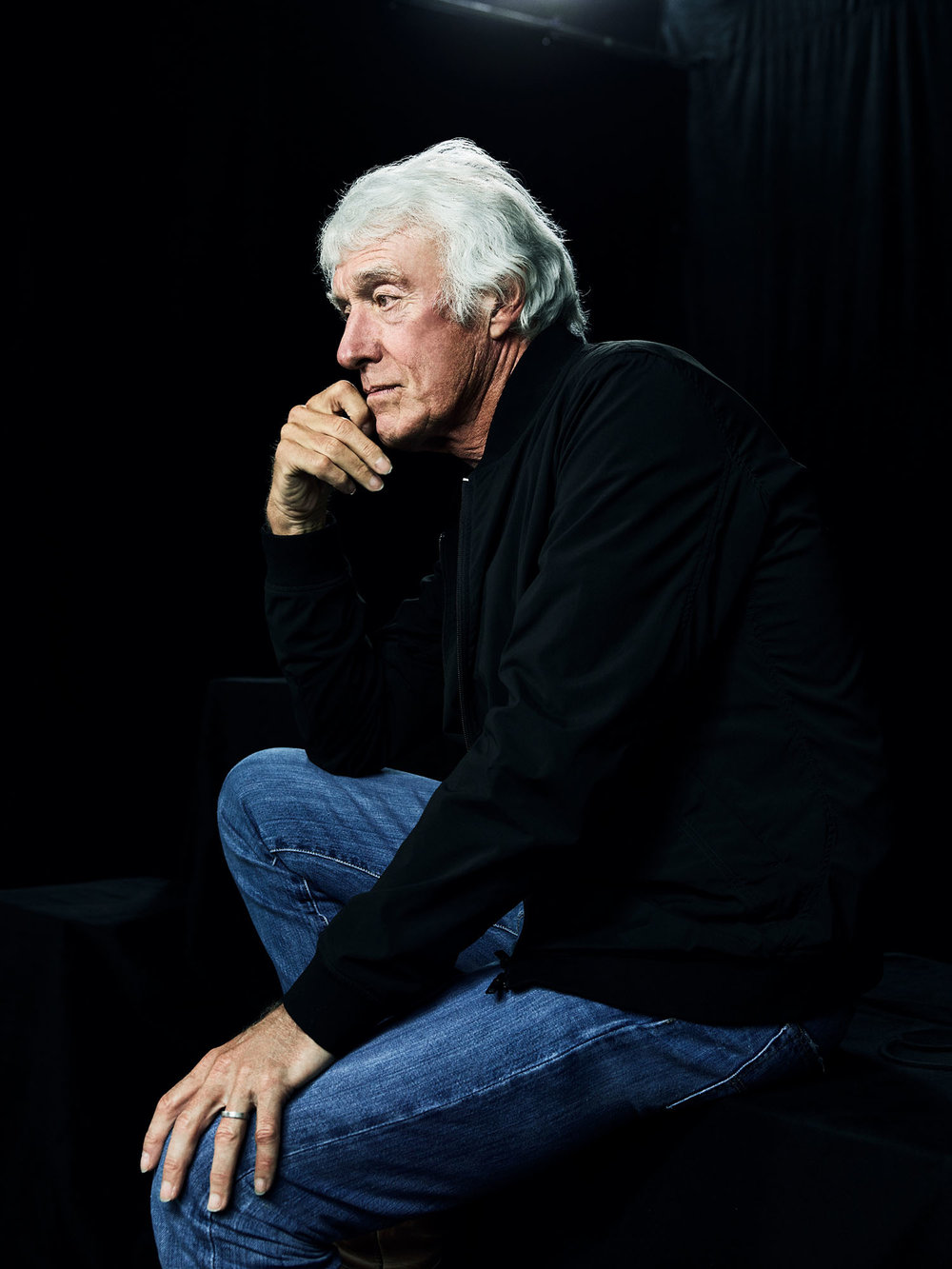 Roger Deakins, Cinematographer, Los Angeles, California, 2017