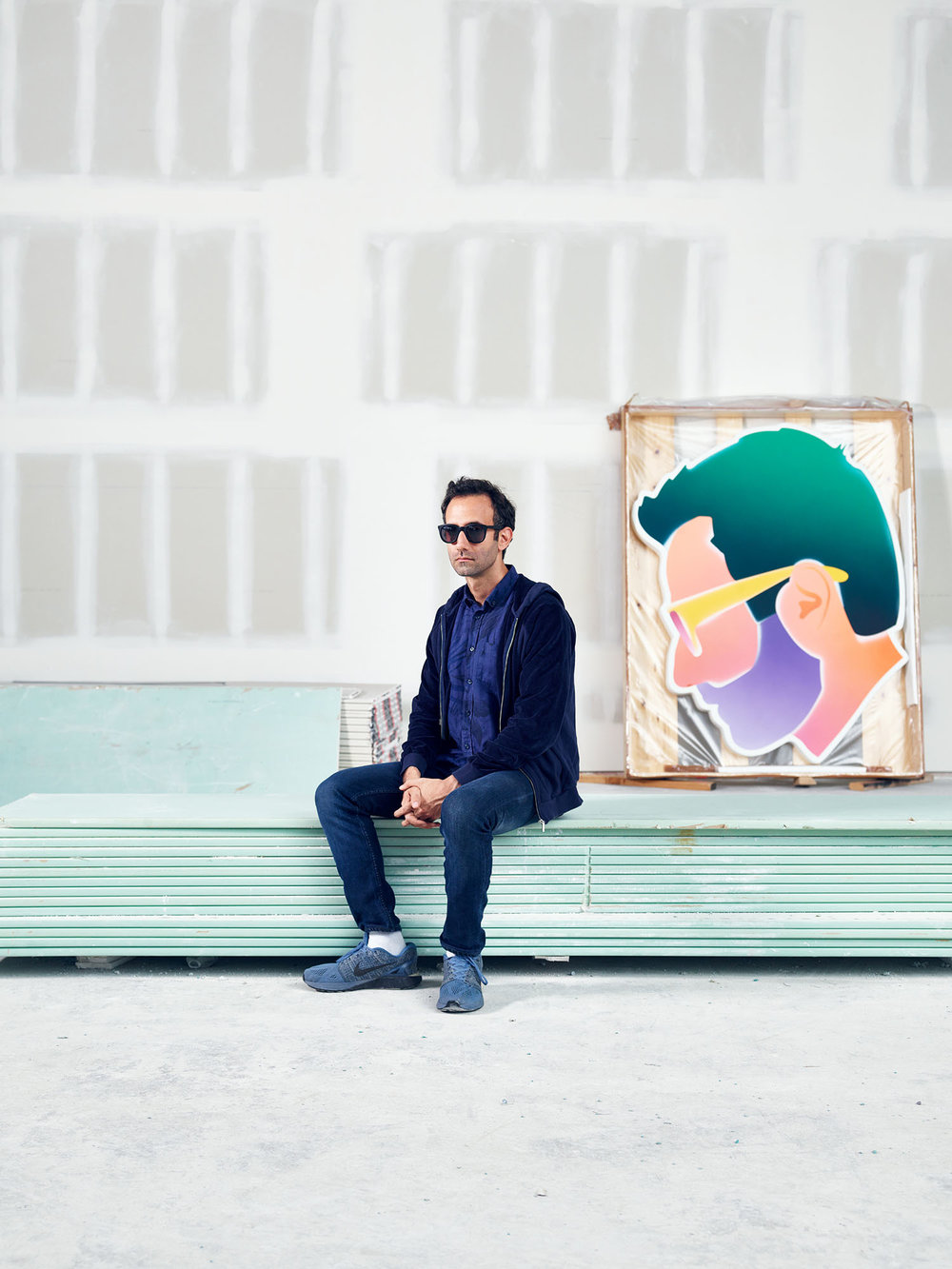 Alex Israel, Artist